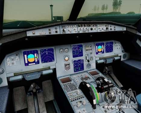Airbus A321-200 Gulf Air for GTA San Andreas interior