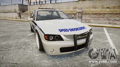 Declasse Merit Police Patrol Speed Enforcement for GTA 4