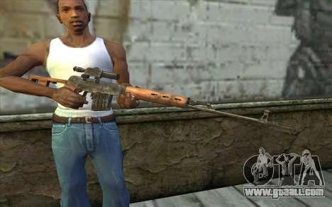 СВД (Battlefield: Vietnam) for GTA San Andreas third screenshot