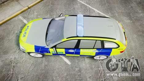 BMW 530d F11 Metropolitan Police [ELS] for GTA 4 right view