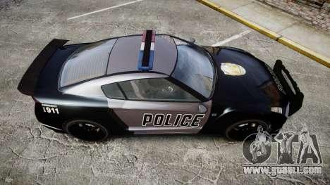 GTA V Annis Elegy RH8 Police [ELS] for GTA 4 right view