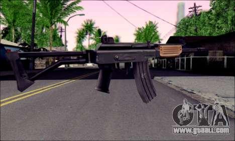 IMI Galil for GTA San Andreas second screenshot