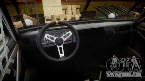 Kessler Stowaway OMP for GTA 4 back view