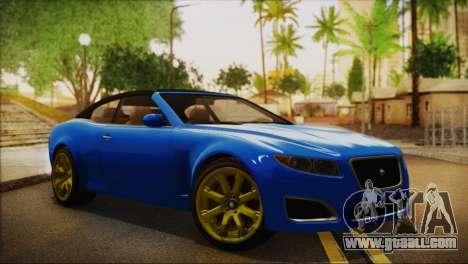 Lampadati Felon GT (IVF) for GTA San Andreas
