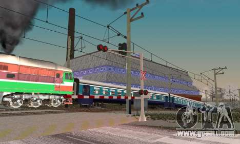 New textures for railway traffic for GTA San Andreas forth screenshot