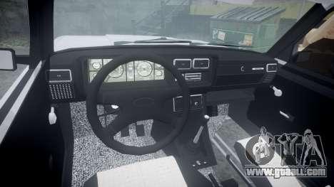 ВАЗ-2107 Avtosh Style for GTA 4 back view