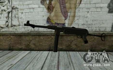 MP40 for GTA San Andreas