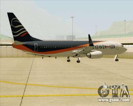 Boeing 737-800 Batavia Air (New Livery) for GTA San Andreas engine