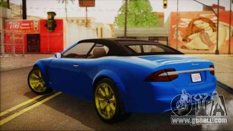 Lampadati Felon GT (IVF) for GTA San Andreas left view