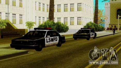New vehicles in LSPD for GTA San Andreas