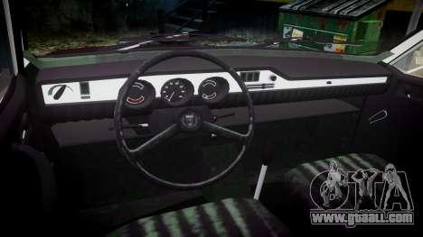 Dacia 1300 for GTA 4 back view