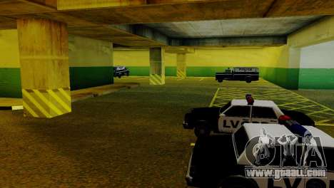New vehicles in the LVPD for GTA San Andreas seventh screenshot