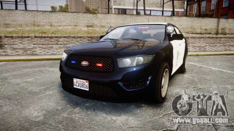 GTA V Vapid Interceptor LSP [ELS] Slicktop for GTA 4