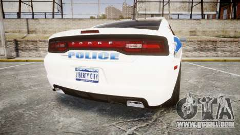 Dodge Charger RT 2013 PS Police [ELS] for GTA 4 back left view
