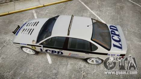 Declasse Merit Police Patrol Speed Enforcement for GTA 4 right view