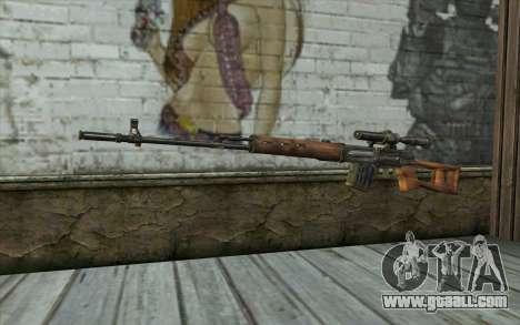СВД (Battlefield: Vietnam) for GTA San Andreas