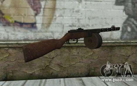 PPSH-41 v2 for GTA San Andreas second screenshot