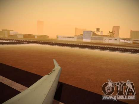 Bombardier CRJ-700 Delta Connection for GTA San Andreas side view