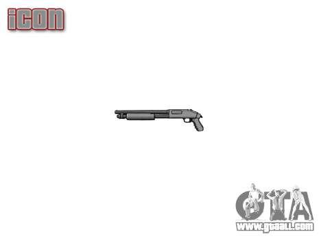 Riot shotgun Mossberg 500 icon1 for GTA 4 third screenshot