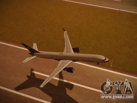 Boeing 757-224 United Airlines for GTA San Andreas engine