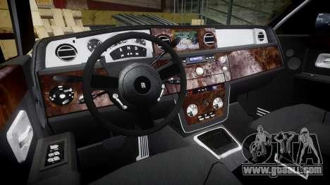 Rolls-Royce Phantom EWB for GTA 4 back view
