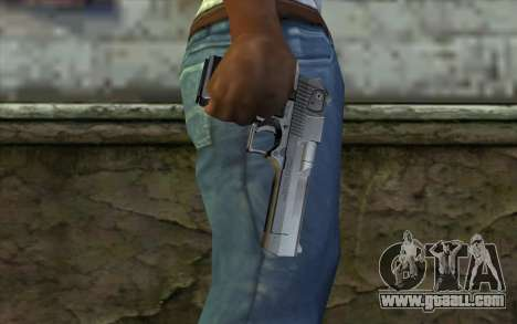 Desert Eagle for GTA San Andreas third screenshot