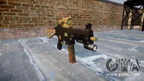 Gun UMP45 Jungle for GTA 4