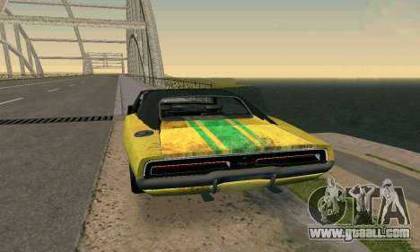 Dodge Charger HL2 EP2 for GTA San Andreas left view