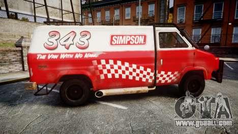 Kessler Stowaway Simpson for GTA 4 left view