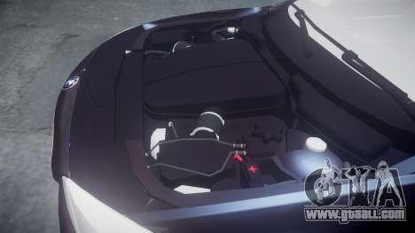BMW 530d F11 Metropolitan Police [ELS] SEG for GTA 4 inner view