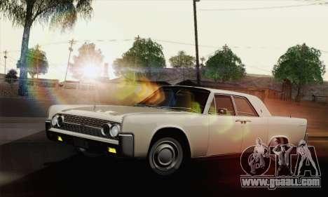 Lincoln Continental Sedan (53А) 1962 (HQLM) for GTA San Andreas