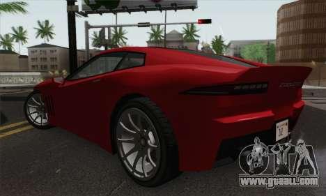 GTA 5 Invetero Coquette for GTA San Andreas left view