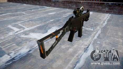 Gun UMP45 CE Digital for GTA 4 second screenshot