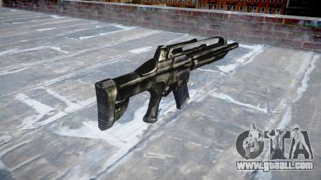 Machine SCAR for GTA 4 second screenshot