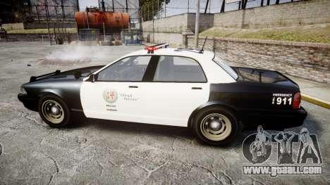 GTA V Vapid Cruiser LSP [ELS] for GTA 4 left view