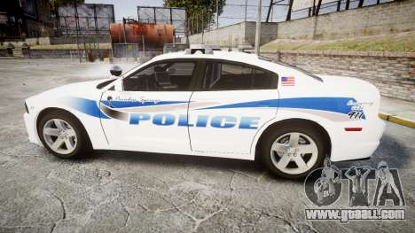 Dodge Charger RT 2013 PS Police [ELS] for GTA 4 left view