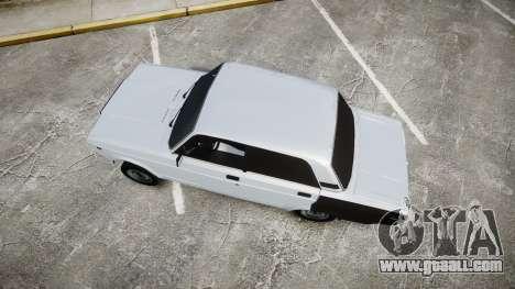 ВАЗ-2107 Avtosh Style for GTA 4 right view