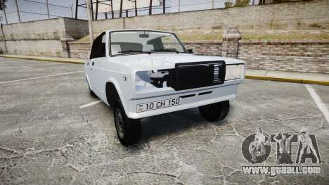 ВАЗ-2107 Avtosh Style for GTA 4