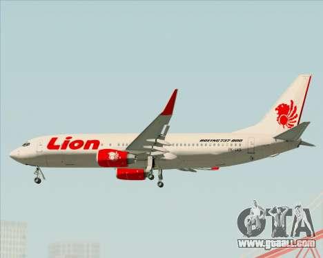 Boeing 737-800 Lion Air for GTA San Andreas engine