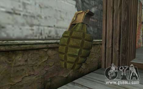 US Граната from Battlefield: Vietnam for GTA San Andreas second screenshot