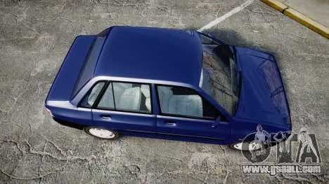 Kia Pride 132 SE for GTA 4 right view