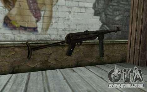 MP40 for GTA San Andreas second screenshot