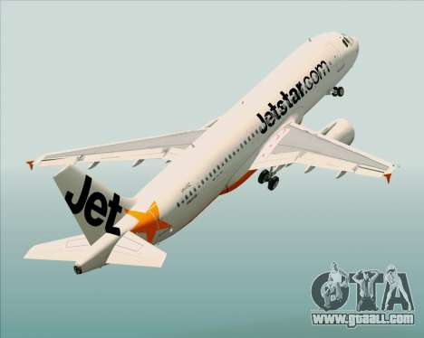 Airbus A320-200 Jetstar Airways for GTA San Andreas