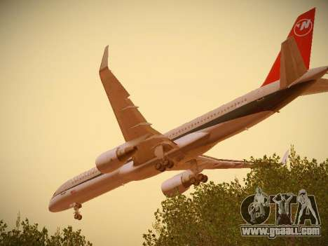 Boeing 757-251 Northwest Airlines for GTA San Andreas engine