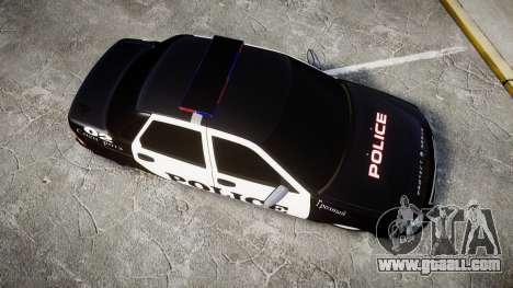 VAZ-2170 Priora Police for GTA 4 right view