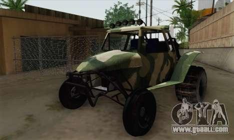 Military Buggy for GTA San Andreas