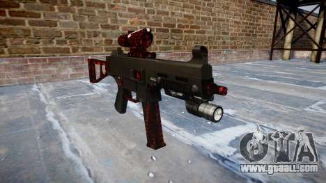 Gun UMP45 Art of War for GTA 4