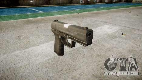 Pistol Taurus 24-7 black icon3 for GTA 4