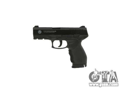 Pistol Taurus 24-7 black icon2 for GTA 4 third screenshot
