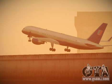 Boeing 757-224 United Airlines for GTA San Andreas wheels